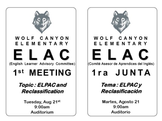 WC ELAC Invitation 20180821