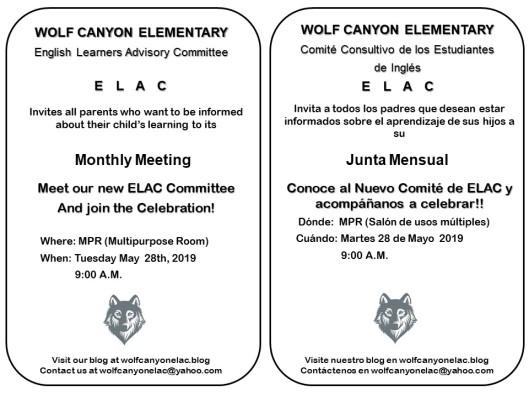 ELAC 052819 Invitation