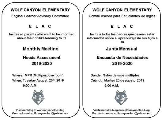 ELAC Invitation 08202019