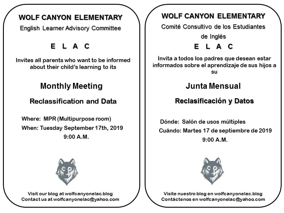 ELAC Invitation 09172019